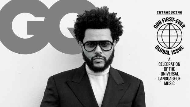 GQ September 2021 - The Weeknd_Cover
