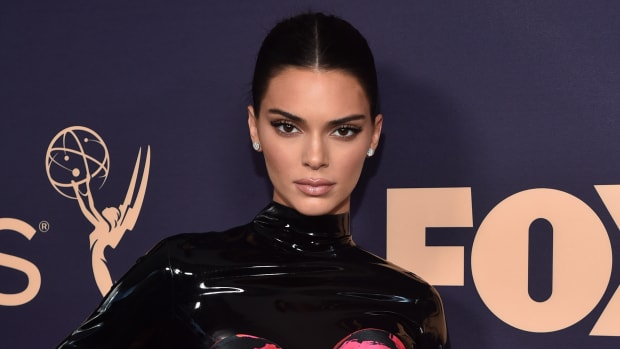 Kendall Jenner attends the 71st Emmy Awards at Microsoft Theater on September 22, 2019
