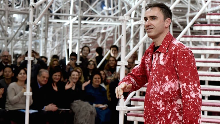 How Raf Simons Became the Biggest Cult Icon in Menswear