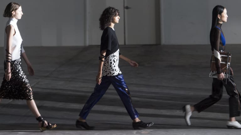 Proenza Schouler Bid Farewell to NYFW With an Awesome New York-Inspired Show