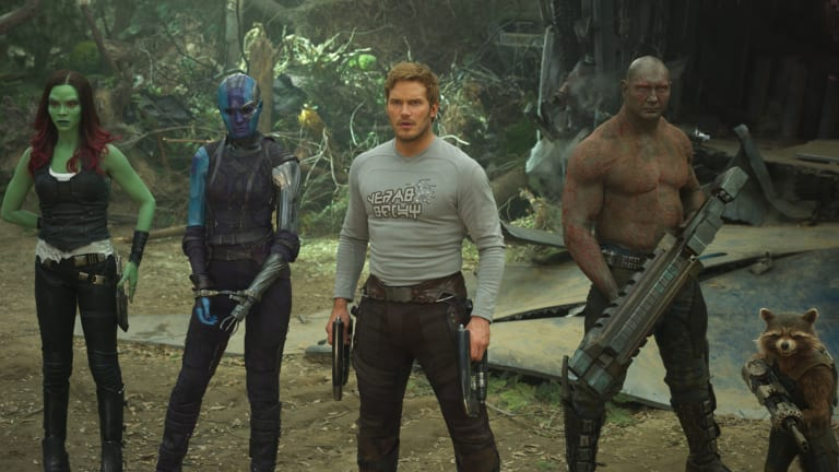 The 'Guardians of the Galaxy Vol. 2' Costume Designer Reveals the Meaning Behind Chris Pratt's Graphic Shirt