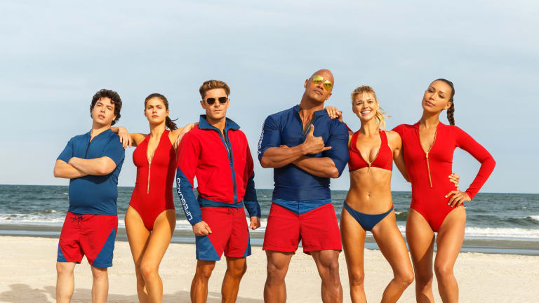 The rock and zac efron were the perfect canvas for the rebooted the rock and zac efron were the perfect canvas for the rebooted baywatch m4hsunfo