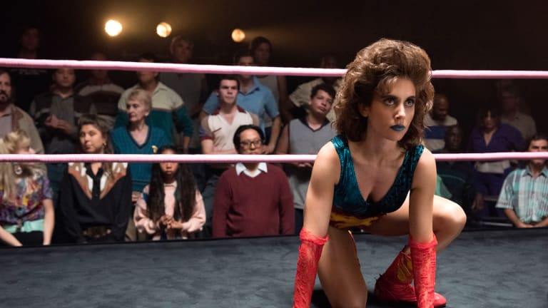 The Mom Jeans and Leotards in 'GLOW' Help to Convey a Realistic '80s Aesthetic