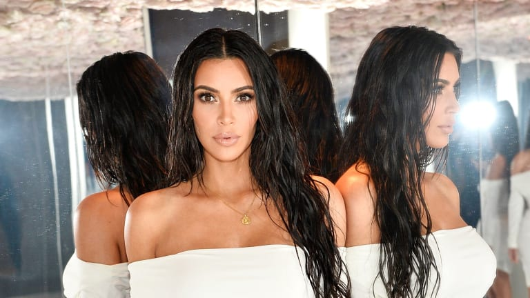 I Went to Kim Kardashian's House for the Most On-Brand Beauty Product Launch of All Time