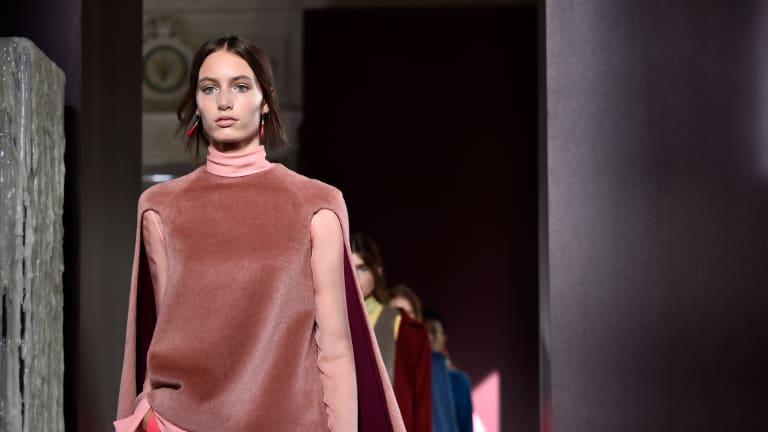 Valentino Gives Athleisure the (Extremely) High Fashion Treatment for Haute Couture Fall 2017