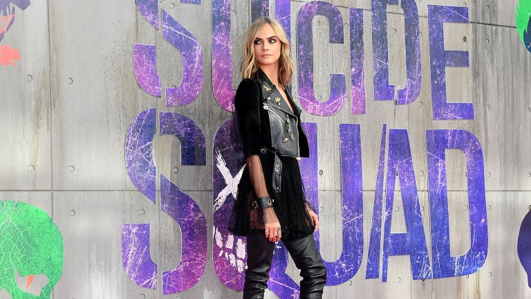 How Cara Delevingne's Sexy 'Suicide Squad' Press Tour Wardrobe Came Together
