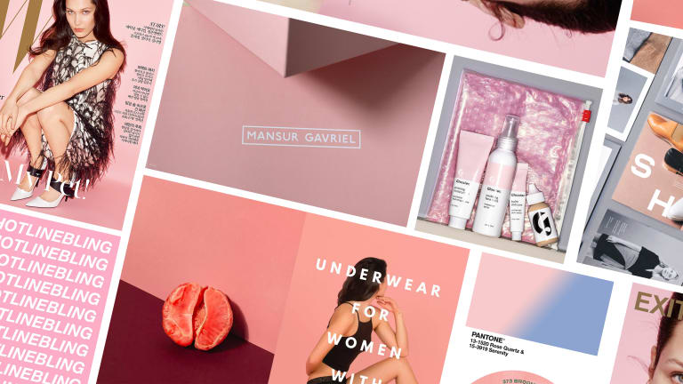 How 'Tumblr Pink' Became the Most Ubiquitous Color in Fashion Branding