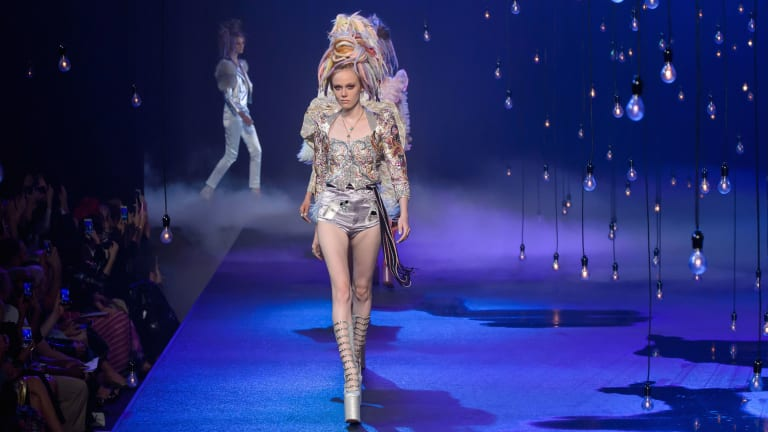 Marc Jacobs Closed NYFW With A Parade of Club Kids and Candy Ravers