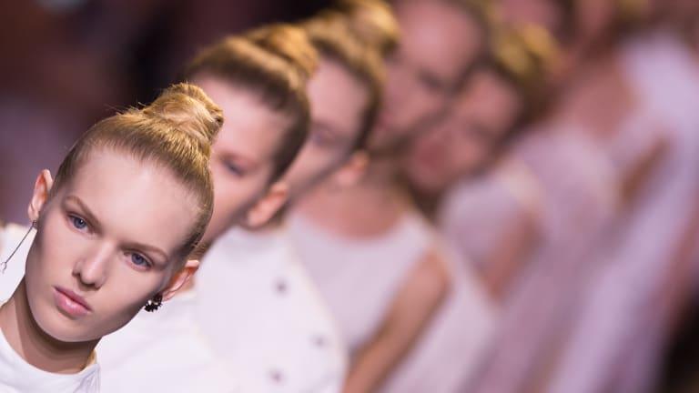 Dior Gives Us Ballerina-Meets-Skater Hair for Spring