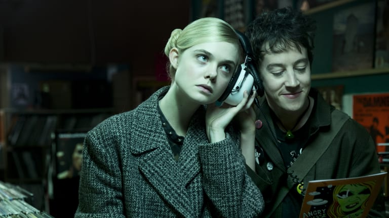 How Costume Transformed Elle Fanning Into a '70s Punk Rock Alien in 'How to Talk to Girls at Parties'