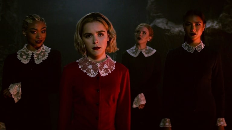 Image result for chilling adventures of sabrina and sisters
