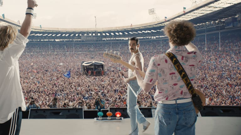 The Costumes in 'Bohemian Rhapsody' Help Rami Malek Victoriously Transform into Freddie Mercury