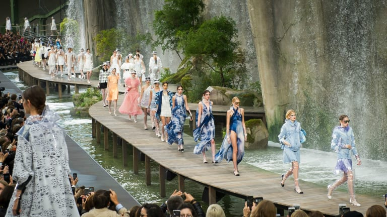 See Every Look From Chanel's Spring 2018 Collection