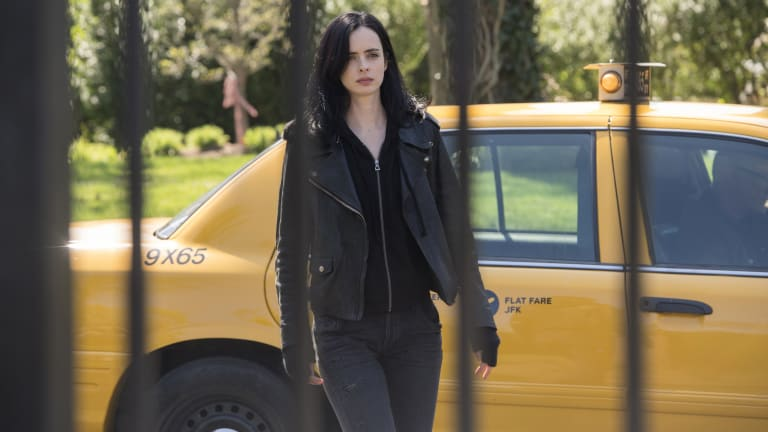 Jessica Jones is 'Not Dressing For Any Kind of Male Gaze' in the Second Season of Netflix's Marvel Superhero Series