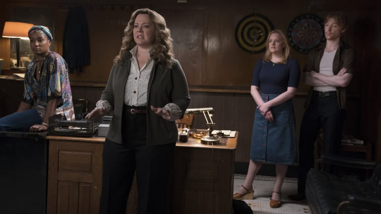 Melissa McCarthy, Tiffany Haddish and Elisabeth Moss Take Charge in '70s Vintage in 'The Kitchen'