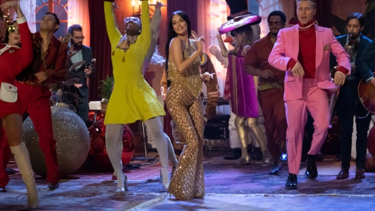 'The Kacey Musgraves Christmas Show' Is a 'Wes Anderson-Meets-Gucci-Meets-Cher' Fashion Spectacular