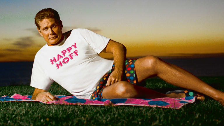 eb9d6451e1 A Bonkers Chat With David Hasselhoff About Hoff Merch and His Starring Role  in the Happy