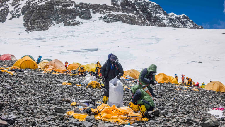 The World's Tallest Mountains Are Covered in Trash, So Bally Is Cleaning Them Up