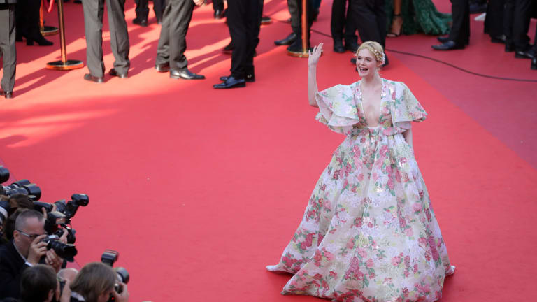 Great Outfits in Fashion History, All Stars Edition: Elle Fanning at Cannes