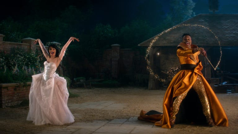 The Timeless Costumes in Camila Cabello's 'Cinderella' Reference Chanel and '80s Lacroix