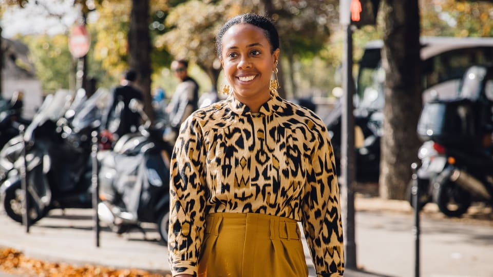 How Nicole Chapoteau Pivoted From Architecture to the Top of the 'Vanity Fair' Fashion Department