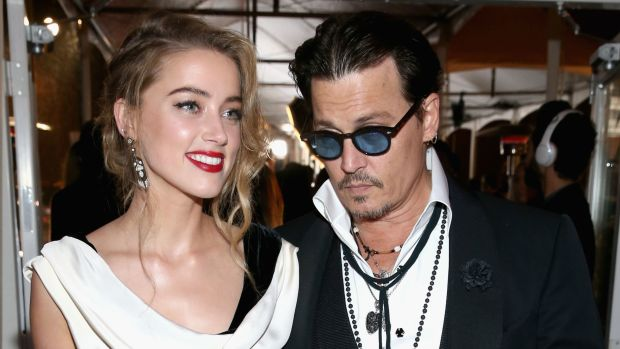Johnny Depp and Amber Heard married. Photo: Jonathan Leibson/Getty Images