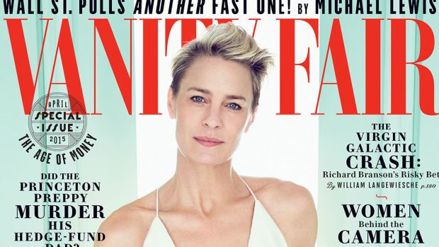 Robin Wright. Photo: Vanity Fair