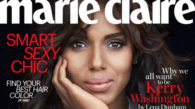 Kerry Washington. Photo: Tesh/Marie Claire