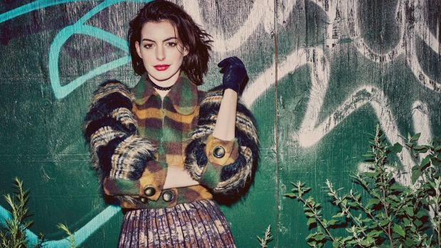 Refinery29 - Anne Hathaway shot by Guy Aroch, styled by Andreas Kokkino