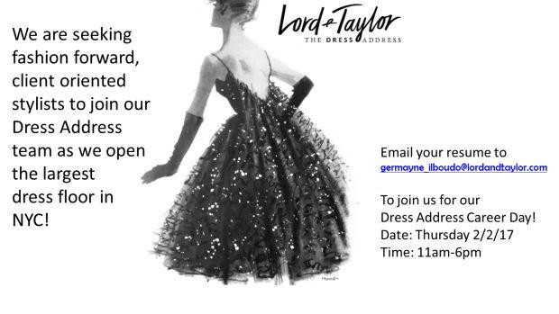 lord & Taylor the dress address