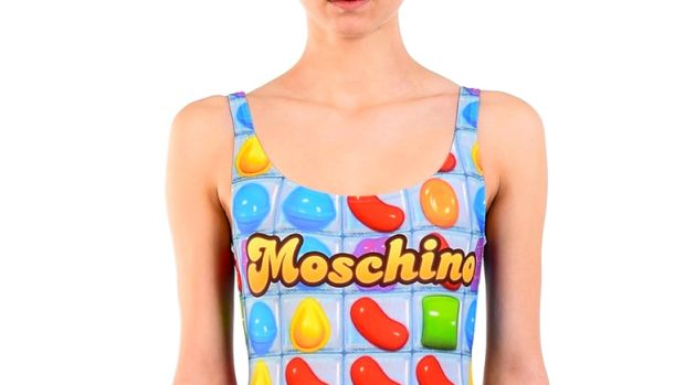 moschino candy crush-