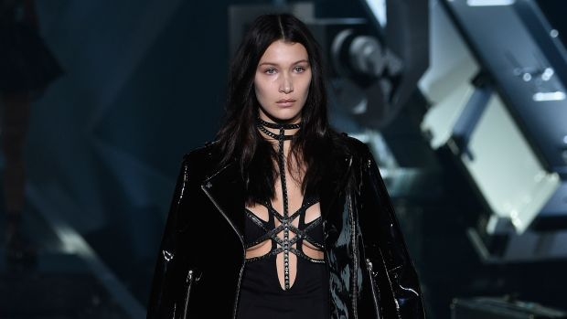 Bella Hadid cropped