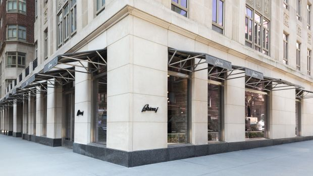 Brioni - NY Flagship store