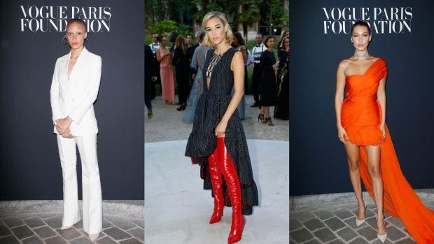 best dressed celebrities paris july 5