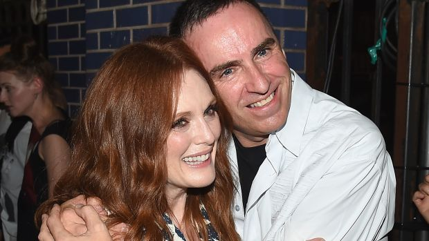 raf simons and julianne moore love each other!-