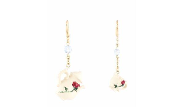 tea earrings small