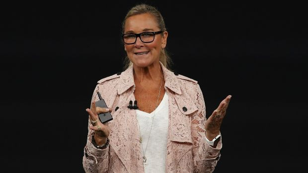 Angela Ahrendts small