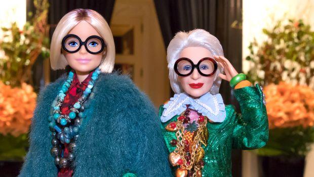 iris apfel barbie copy