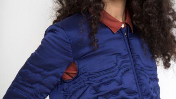 rachel comey armpit holes jacket