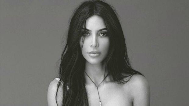 Celebrity fashionista kim kardashian