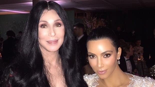 Cher and Kim Kardashian Met Gala Selfie. Photo:@KimKardashian/Instagram