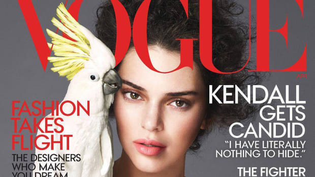kendall jenner vogue april 2018