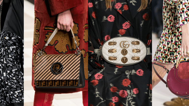 54 of Our Favorite Bags From the Fall 2017 Runways