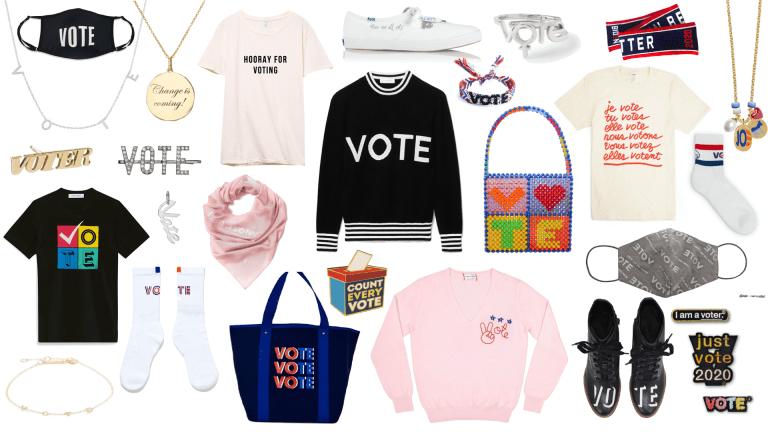 Shop 100+ Pieces of 'Vote' Merch