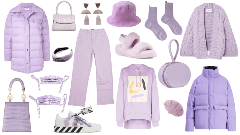 26 Ways To Get Into Lilac This Winter