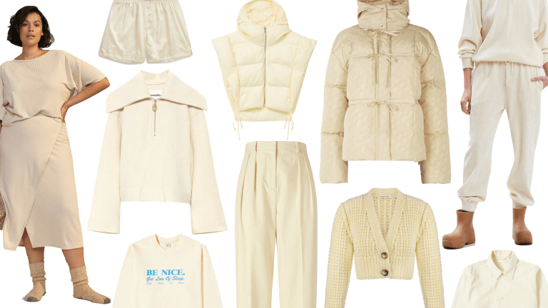 17 Almond Oil-Colored Winter Clothes for a Dairy-Free Alternative to Stick-of-Butter Dressing