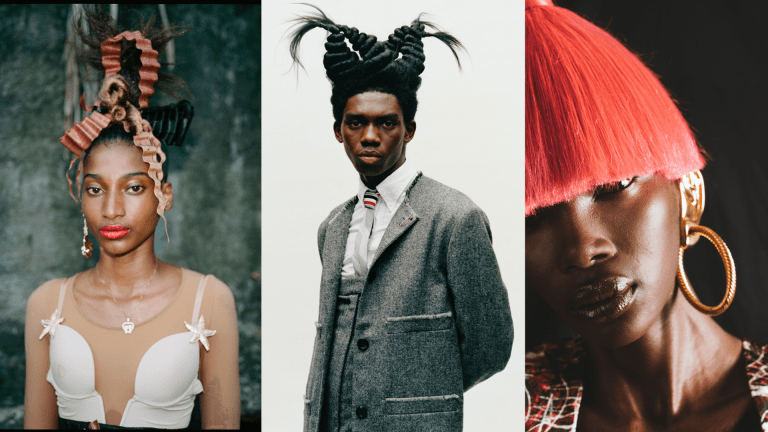 How Jawara Went From Helping Out at His Aunt's Salon to Becoming a World-Renowned Hairstylist