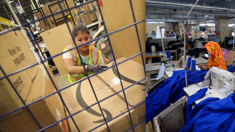 If You Care About Fashion Ethics, It's Time to Start Paying Attention to Amazon Warehouses