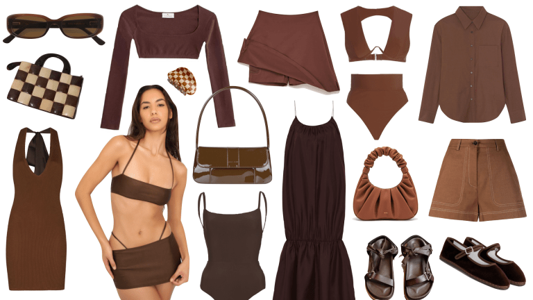 Your Summer Wardrobe Is Craving Chocolate Brown