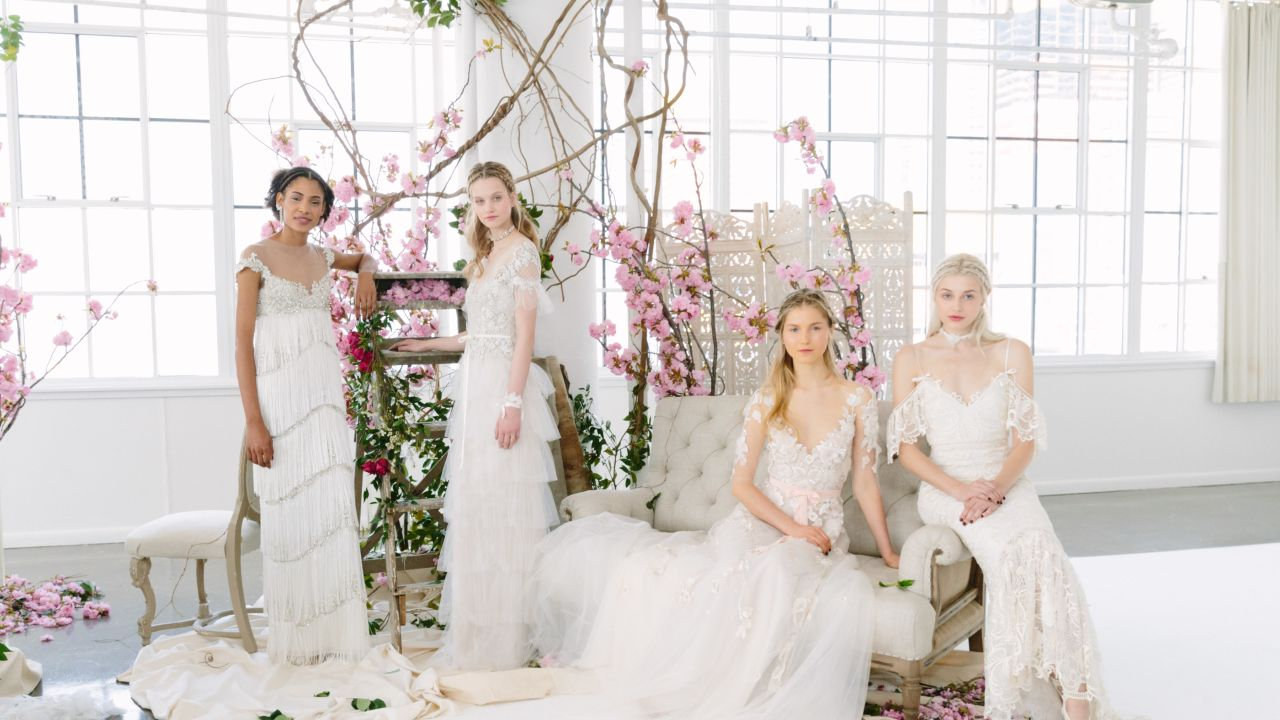 The 11 Biggest Bridal Trends For Spring 2018